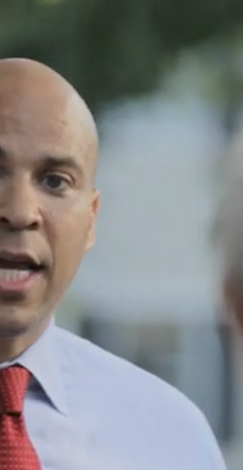 Cory Booker for Senate People New Jersey